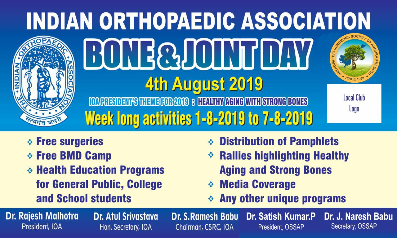 bone and joint week ossap